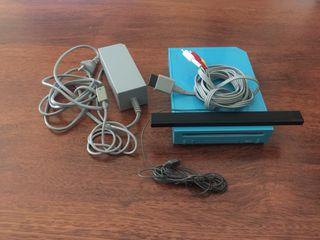 Pack Wii Azul + juegos y accesorios