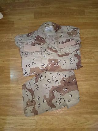 uniforme militar arido