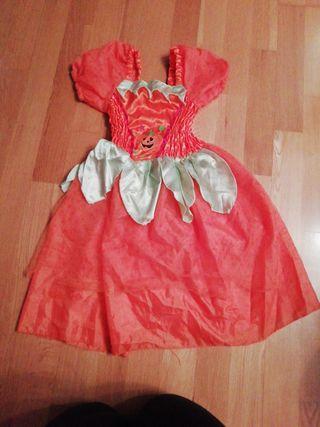 Disfraz calabaza T. 5 Años
