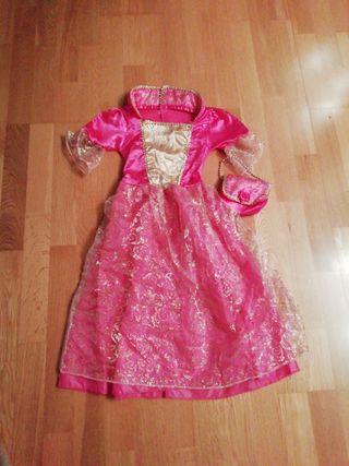 disfraz princesa T. 5 años