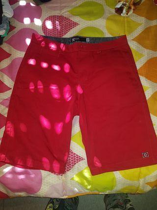 pantalon DC rojo