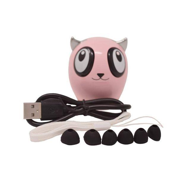 Auriculares Bluetooth inalámbricos Rosa.