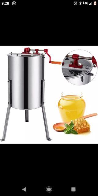 extractor de miel manual
