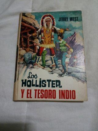 LIBRO AVENTURAS DE LOS HOLLISTER Y EL TESORO INDIO