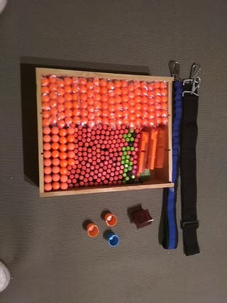 320 balas con accesrios
