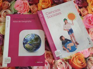 Libro Ciencias Sociales de 5° de Primaria