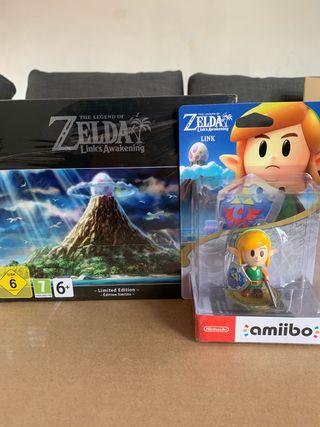 Pack Zelda Link's Awakening + Amiibo Link