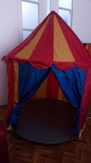 tienda campaña de circo