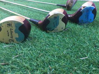 Equipo palos golf +carrito+saco + regalo