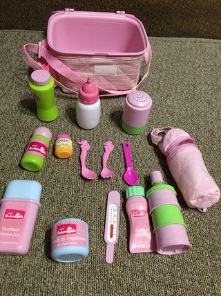 Neceser accesorios bebés