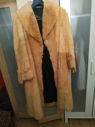 Abrigo piel de Chinchilla