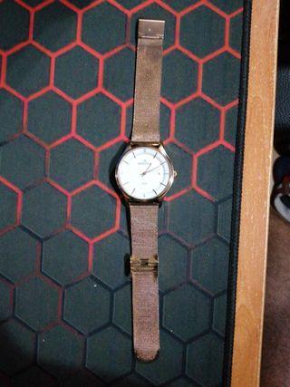 reloj minister color oro rosa