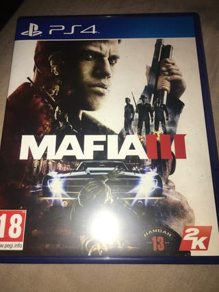 Ps4. MAFIA3 map incl.
