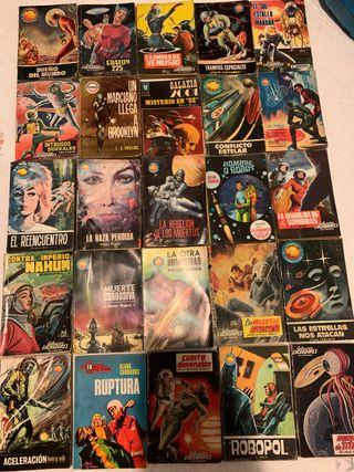 Bolsilibros ciencia ficción 25 novelas