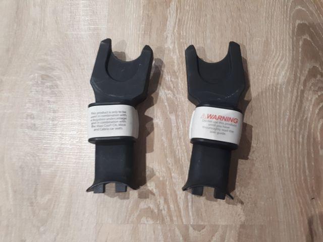Maxi-Cosi Cabriofix + adaptadores + protector