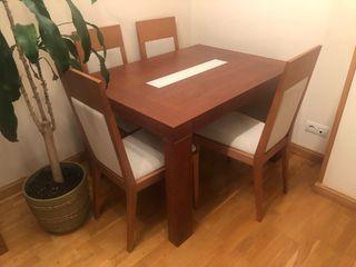 Mesa de salon y 6 sillas
