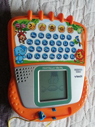 ordenador vtech safari letras tactil