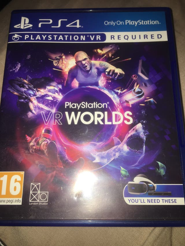 Ps4 VR WOLDS. game only