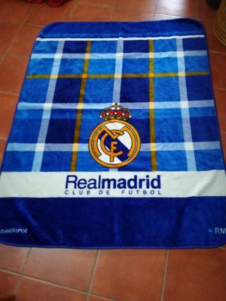 Manta oficial del Real Madrid