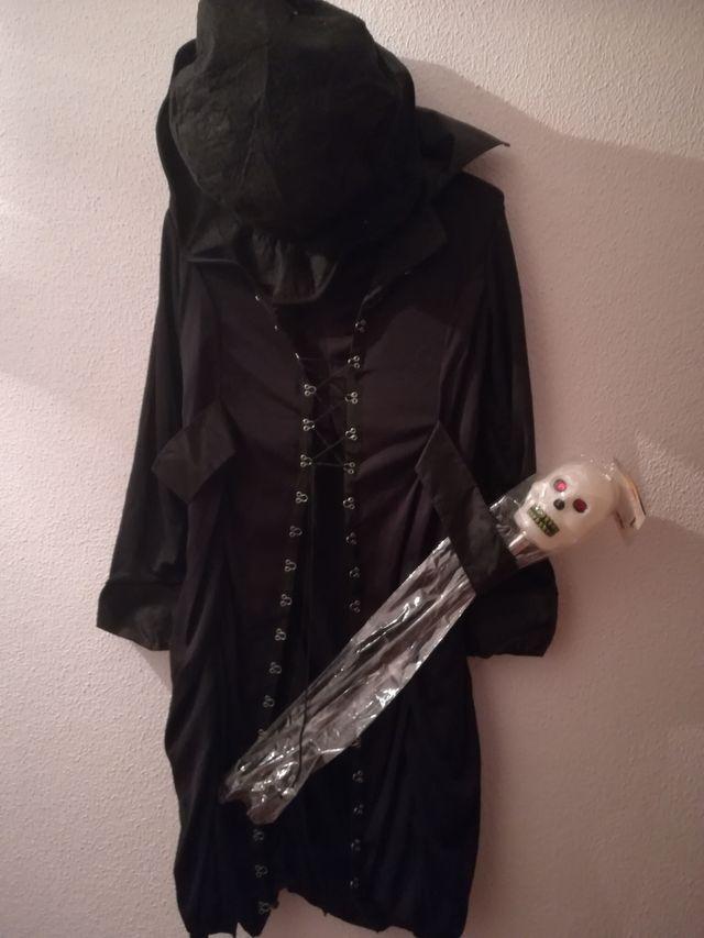 Halloween disfraz señor de la oscuridad