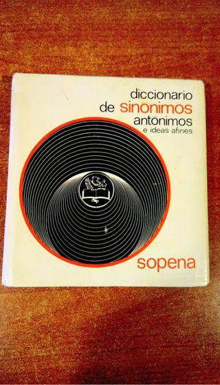 Diccionario de Sinonimos, antonimos e ideas afines