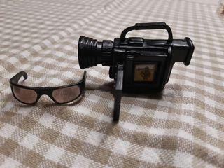 Cámara de vídeo y gafas Barbie Bratz