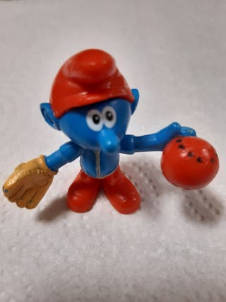 Figura de Pitufo beisbol