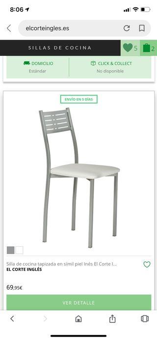 Mesa y 2 sillas cocina de segunda mano por 95 € en Paterna ...