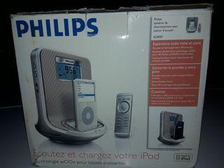 Philips AJ300D iPod / GoGear Radio reloj