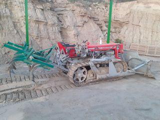 Tractor de cadenas Massey ferguson 164c