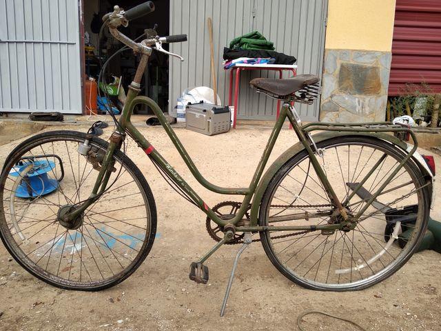 se vende bicicleta windsor clásica antigua vintage