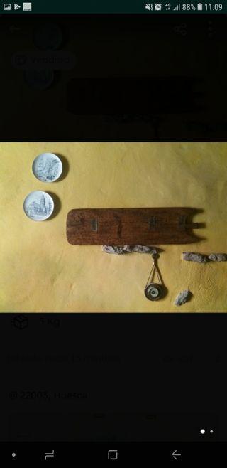 pala de panadero madera vintage