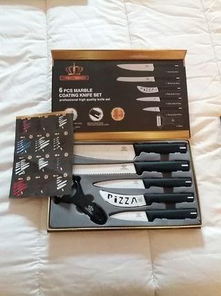 Juego de cuchillos profesionales