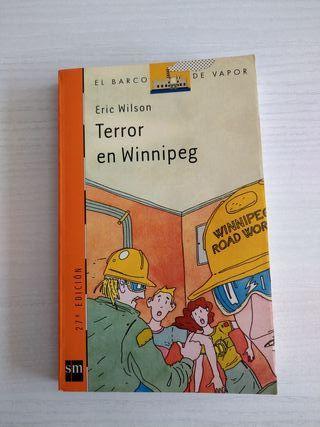 Libro Terror en Winnipeg