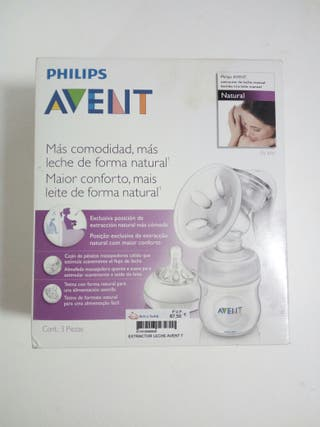 SACALECHES MANUAL AVENT PHILIPS