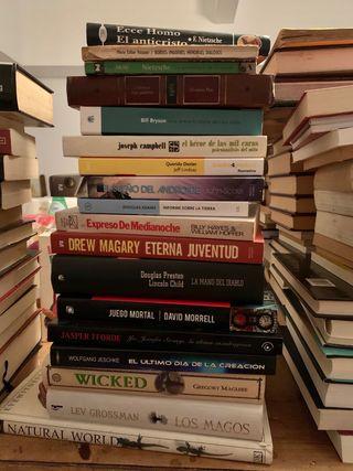 102 libros por 70€