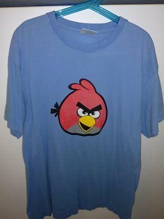 camiseta Angry Birds S