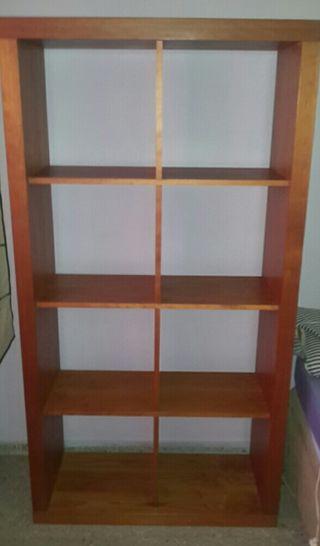 mueble estanteria cubiculos