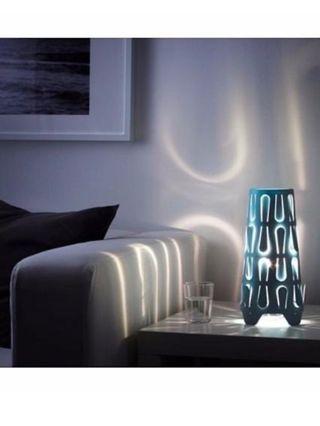 Lámparas azul mesilla/mesita noche