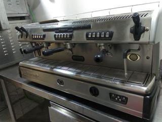cafetera industrial spaziale con Molino