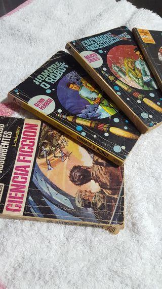 novelas de ciencia ficción.