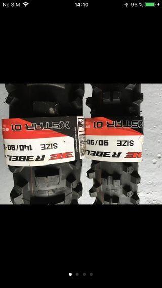 Neumáticos nuevos enduro (precio x pareja)