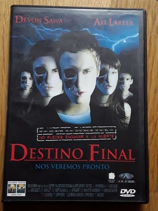 DVD DESTINO FINAL 1