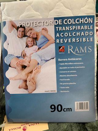 Sabana acolchada protectora impermeable