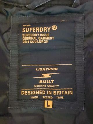 chaqueta bomber hombre superdry L