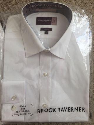 Brook Taverner Alba cotton shirt