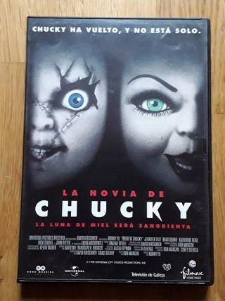 DVD LA NOVIA DE CHUCKY