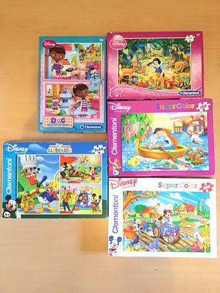 Lote 8 Juegos Infantil Disney Clementoni
