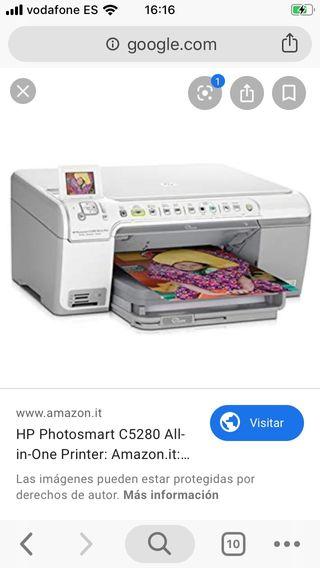 Impresora multifuncion hp photosmart c5280