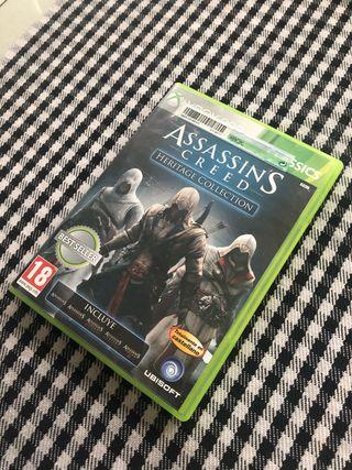 Assassin's Creed videojuego xbox360